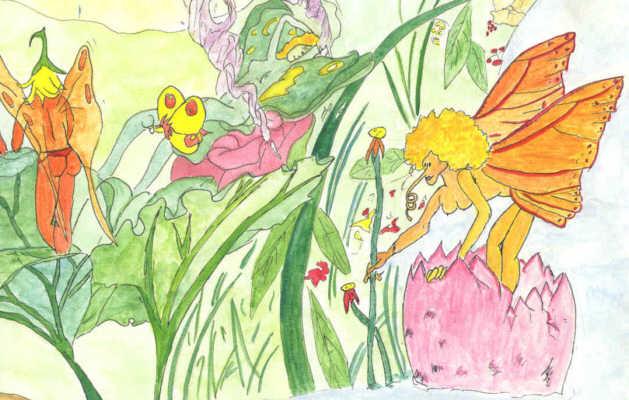 tableaux jardin des fées jardin des jouet